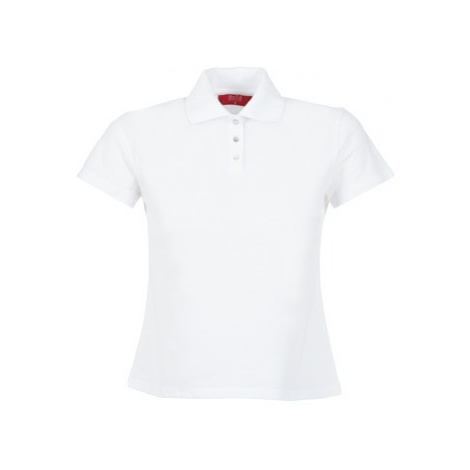 BOTD ECLOVERA women's Polo shirt in White