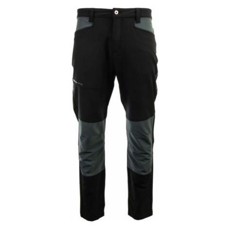 ALPINE PRO LEIK black - Men's outdoor pants