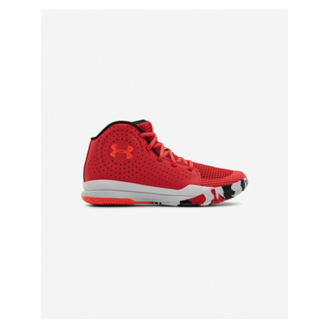 Under Armour Grade School Jet 2019 Kids Sneakers Red