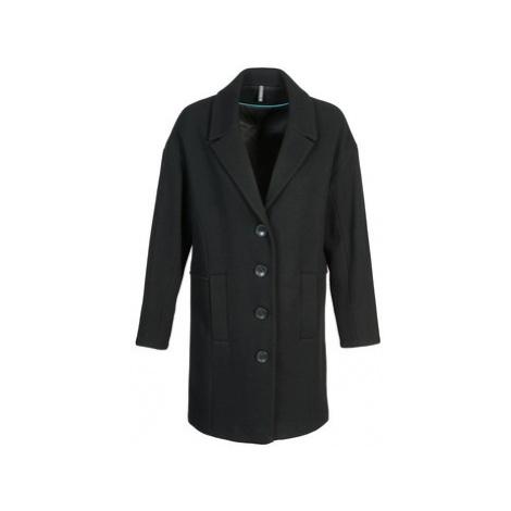 Naf Naf ALEX women's Coat in Black