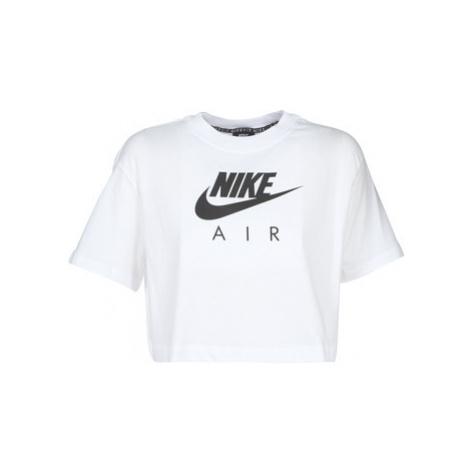 Nike W NSW AIR TOP SS women's T shirt in White