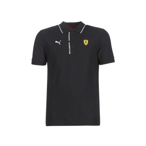 Puma SF POLO FERRARI men's Polo shirt in Black