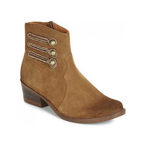 Mam'Zelle JUDITH women's Mid Boots in Brown