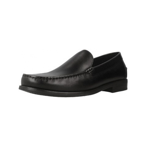 Geox U NEW DAM0N A men's Loafers / Casual Shoes in Black
