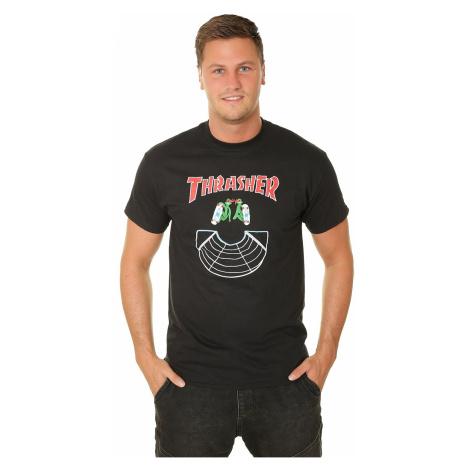 T-Shirt Thrasher Doubles - Black - men´s
