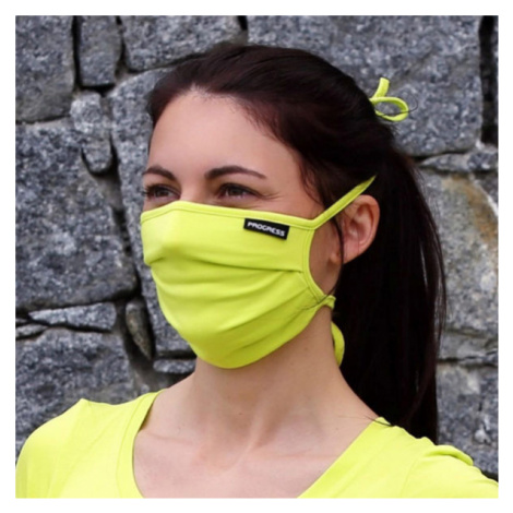 Progress MASK LITE light green - Bamboo mask with a pocket