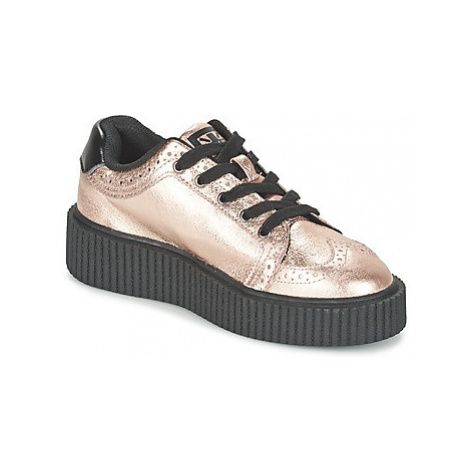 TUK CASBAH CREEPERS women's Shoes (Trainers) in Pink T.U.K