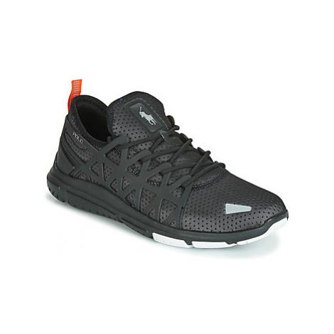 Polo Ralph Lauren TRAIN 200 PERF MESH men's Shoes (Trainers) in Black