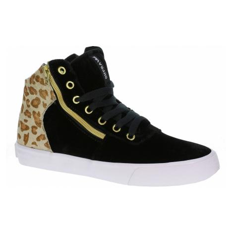 Supra Cuttler Shoes - Black/Cheetah/White