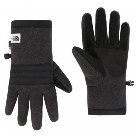 The North Face GORDON ETIP GLOVE M dark gray - Men's gloves