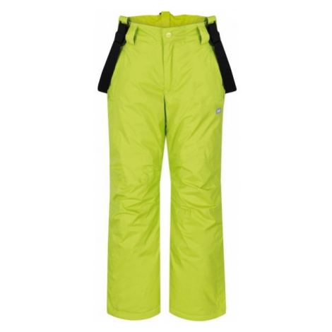 Loap FIDOR green - Kids' winter trousers