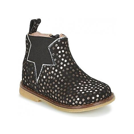 Acebo's MAKALU girls's Children's Mid Boots in Black