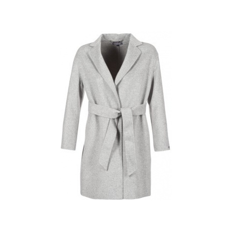 Tommy Hilfiger CARMEN WOOL COAT women's Coat in Grey