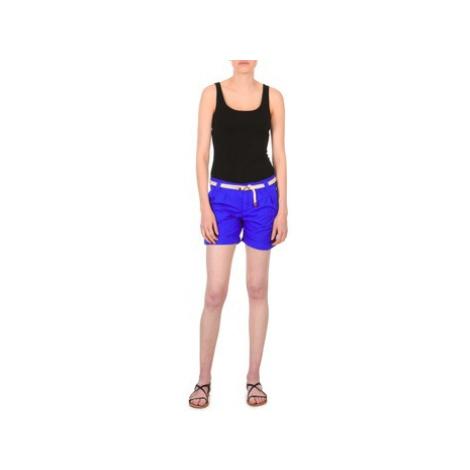 Franklin Marshall CALOUNDRA women's Shorts in Blue Franklin & Marshall