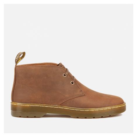 Dr. Martens Men's Cabrillo Crazyhorse Leather Desert Boots - Gaucho - UK Dr Martens