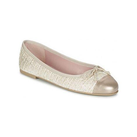 Pretty Ballerinas AMI women's Shoes (Pumps / Ballerinas) in Gold