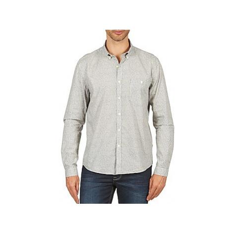 Barbour FERN men's Long sleeved Shirt in Grey
