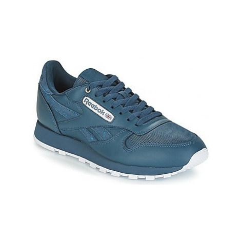 Reebok Classic CLASSIC LEATHER women's Shoes (Trainers) in Blue