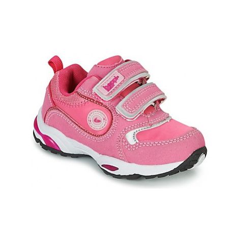 BEPPI LOVU girls's Children's Shoes (Trainers) in Pink