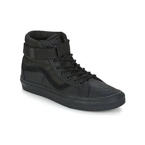 Vans SK8-HI REISSUE STRAP women's Shoes (High-top Trainers) in Black