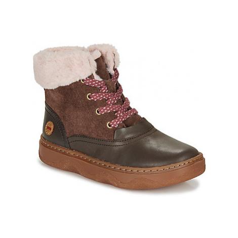 Camper Kido Kids girls's Children's Mid Boots in Brown