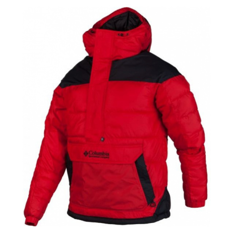 Columbia LODGE PULLOVER JACKET red - Men's winter jacket
