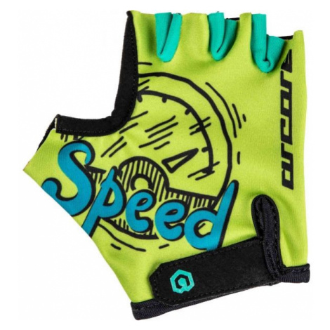 Arcore LUKE green - Kids' cycling gloves
