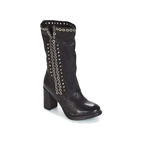Airstep / A.S.98 ADDAE women's Low Ankle Boots in Black