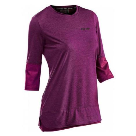 Northwave EDGE W 3/4 violet - Women's biking jersey North Wave
