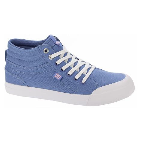 shoes DC Evan HI TX - BWT/Blue/White
