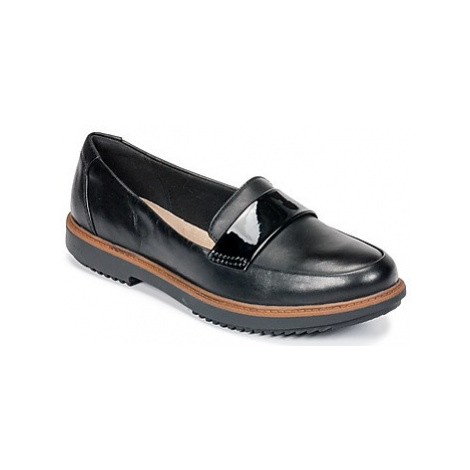 Clarks Raisie Arlie women's Loafers / Casual Shoes in Black