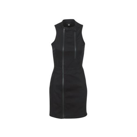 G-Star Raw LYNN LUNAR SLIM DRESS women's Dress in Black