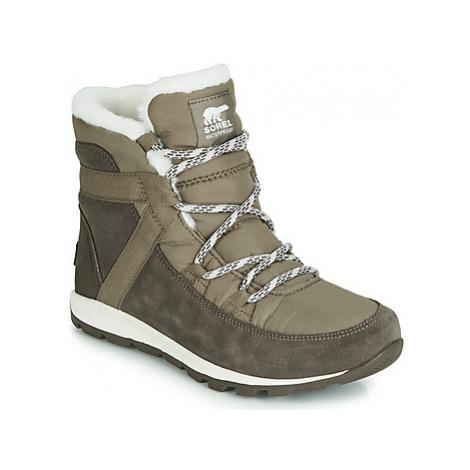 Sorel WHITNEY FLURRY women's Mid Boots in Grey