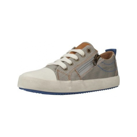 Geox J ALONISSO B. D girls's Children's Shoes (Trainers) in Grey