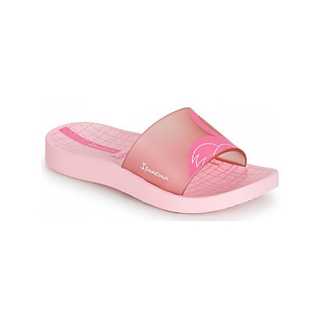 Ipanema URBAN SLIDE KIDS girls's Children's Mules / Casual Shoes in Pink