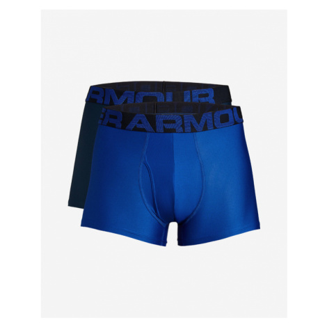 "Under Armour Tech™ 3"" Boxers 2 ks Blue"