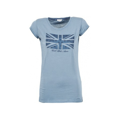 U.S Polo Assn. EVITA women's T shirt in Blue U.S. Polo Assn