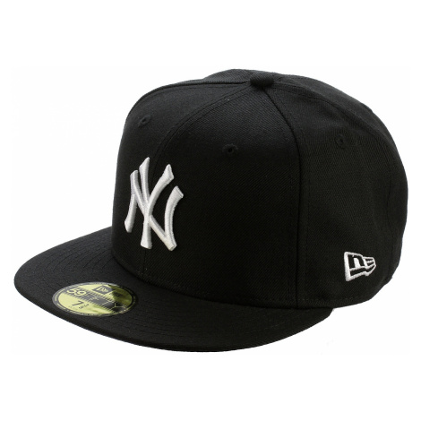 cap New Era 59F League Basic MLB New York Yankees - Black/White Logo