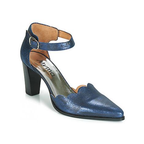 Myma GLORIA women's Court Shoes in Blue