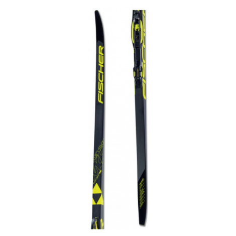 Fischer TWIN SKIN RACE MED/STIFF + RACE CLASSIC - Classic style Nordic skis with uphill travel s