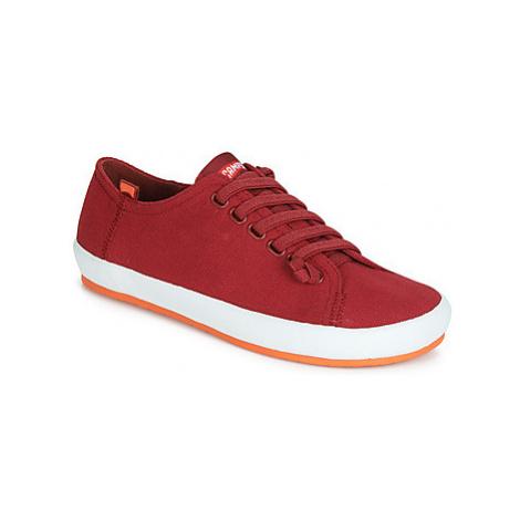 Camper PEU RAMBLA VULCANIZADO women's Casual Shoes in Red
