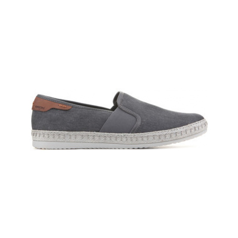 Geox U Copacabana B U82B7B 000NB C9002 men's Slip-ons (Shoes) in Grey
