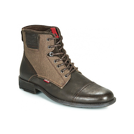 Levis FOWLER men's Mid Boots in Brown Levi´s
