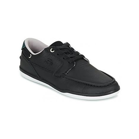 Lacoste DECK-MINIMAL men's Boat Shoes in Black