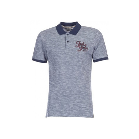 Jack Jones JORNEW AUTHENTIC men's Polo shirt in Blue Jack & Jones