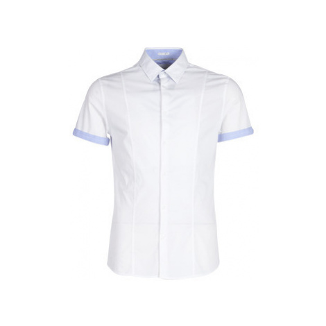 Guess SS SPORTY men's Short sleeved Shirt in White