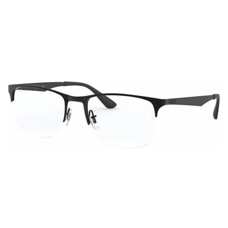 Ray-Ban Rb6362 Man Optical Lenses: Multicolor, Frame: Black - RB6362 2509 53-19