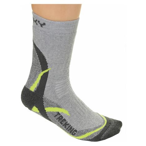 socks Husky Treking New - Light Green
