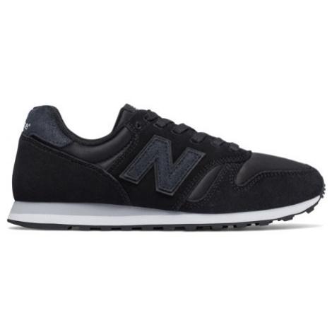 New Balance 373 Shoes - Black/Silver Mink