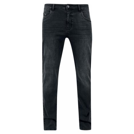 Urban Classics - Stretch Denim Pants - Jeans - black